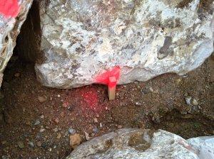 Replanteo de línea de erosión tras riada Antas (2)