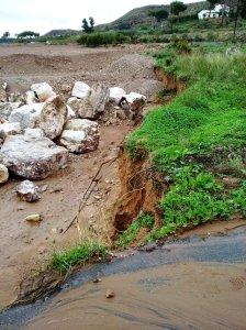 Replanteo de línea de erosión tras riada Antas (3)